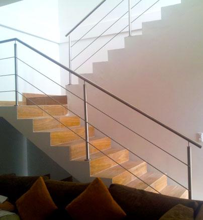 Barandales Para Escalera Stair Designs Pinterest Escalera - Barandas-escaleras-modernas